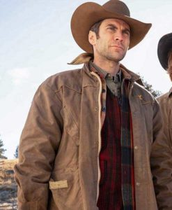 Jamie Dutton Yellowstone Leather Jacket