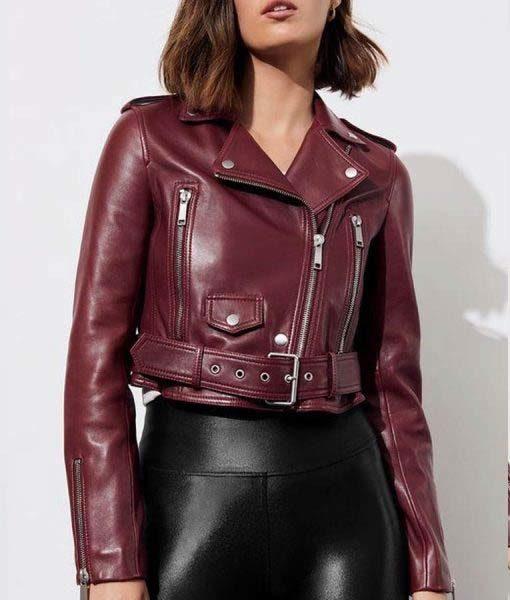 Jessica Davis 13 Reasons Why Moto Jacket