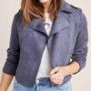 Jessica Davis Purple 13 Reasons Why Jacket