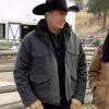 John Dutton Yellowstone Grey Jacket