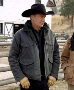 John Dutton Yellowstone Grey Jacket