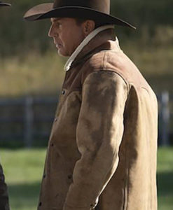 John Dutton Yellowstone Shearling Jacket