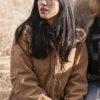 Monica Dutton Yellowstone Brown Jacket