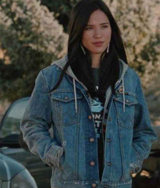Monica Dutton Yellowstone Denim Jacket