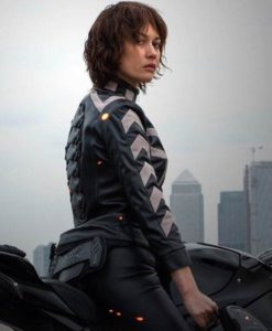 Olga Kurylenko The Courier Jacket