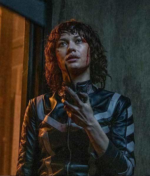 Olga Kurylenko The Courier Jacket