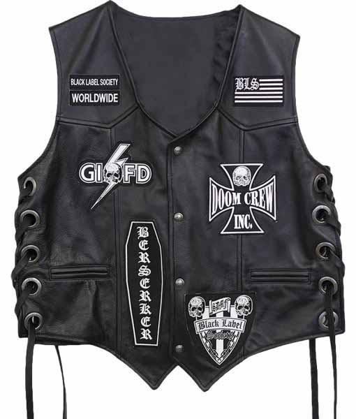 BSL Black Label Society Vest