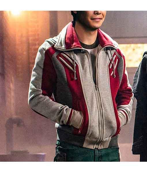 Gar Logan Titans Jacket