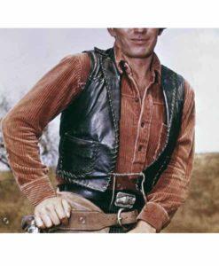 James Drury The Virginian Vest