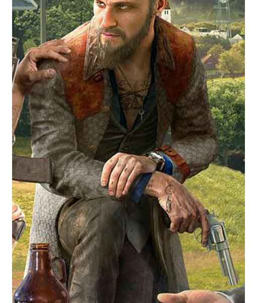 John Seed Far Cry 5 Coat