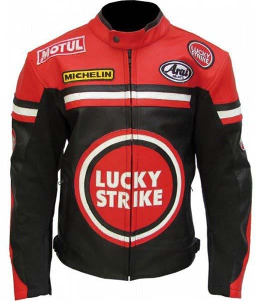 Lucky Strike Biker Leather Jacket