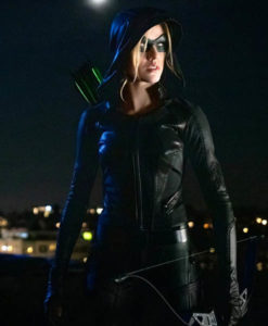 Mia Smoak Arrow S07 Leather Jacket
