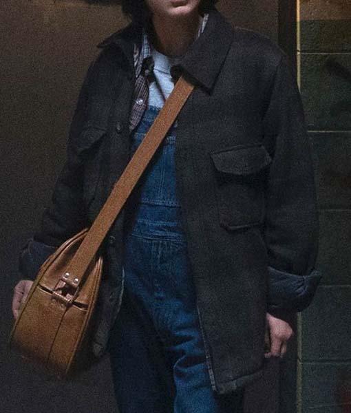 Millie Bobby Brown Enola Holmes Coat