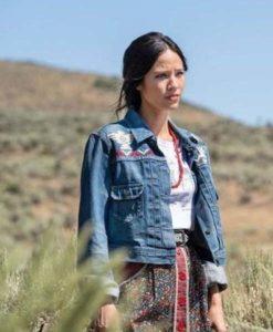 Monica Dutton Yellowstone S03 Jacket