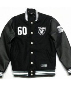 Oakland Raiders Varsity Jacket