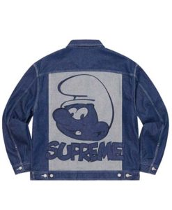 Supreme Smurfs Jacket