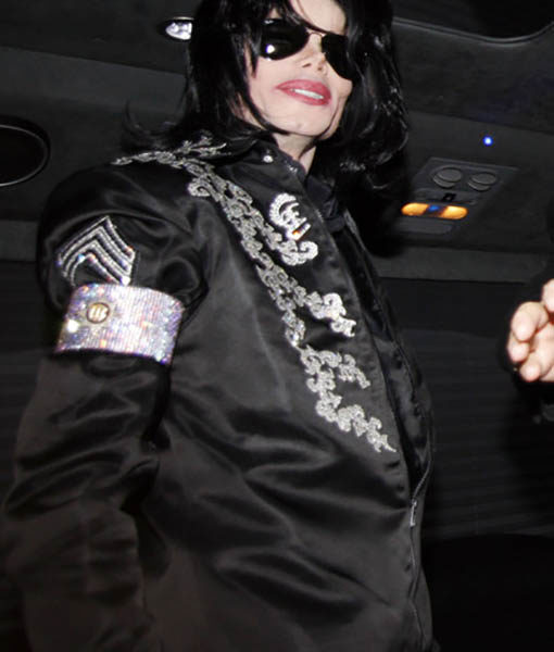 This is It Conference Micheal Jackson Jacket
