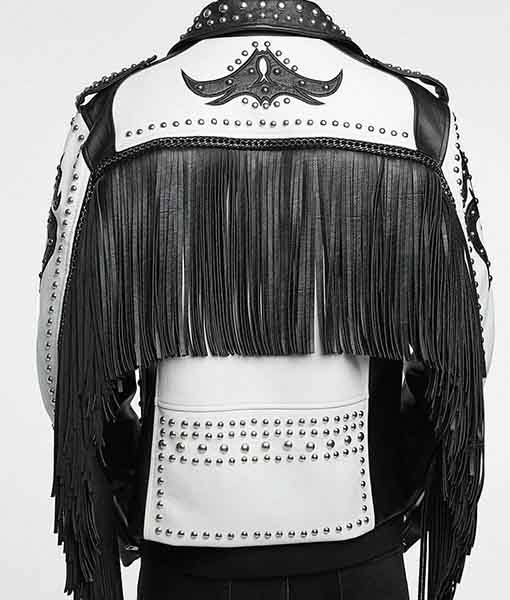 Tribal Rock Punk Gothic Rivet Jacket