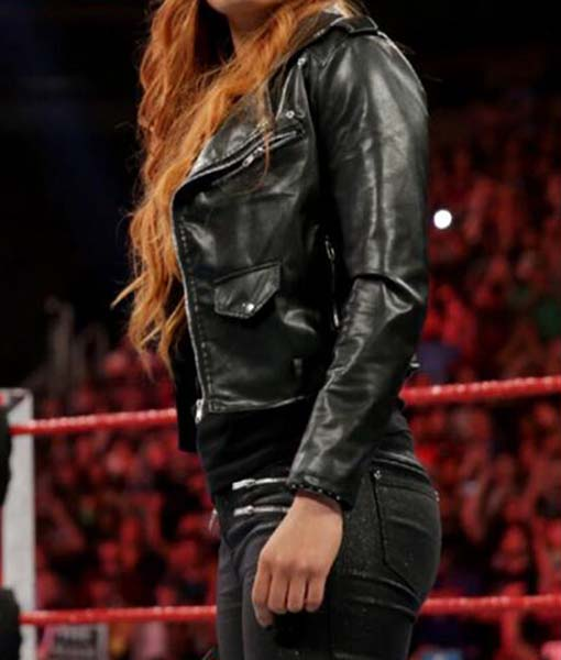 WWE Becky Lynch Biker Jacket