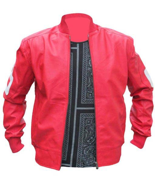 8 Ball David Puddy Red Jacket