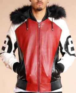 8 Ball Michael Hoban Leather Jacket