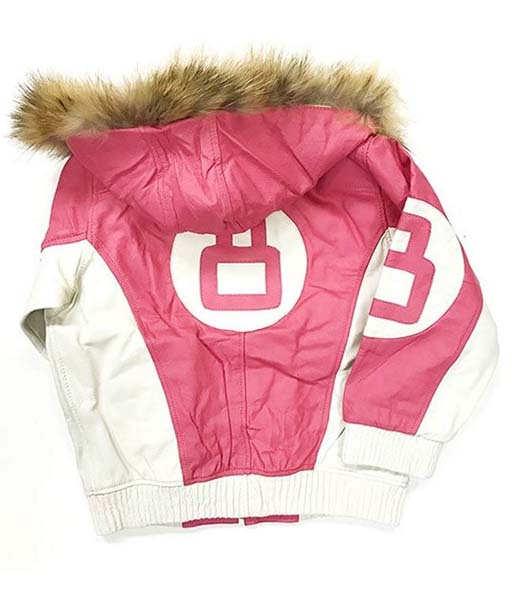 8 Ball Michael Hoban Pink Jacket