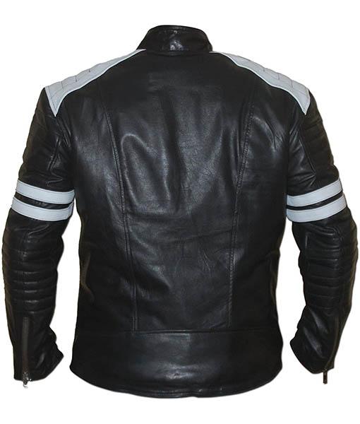 Ian Nerve Leather Jacket