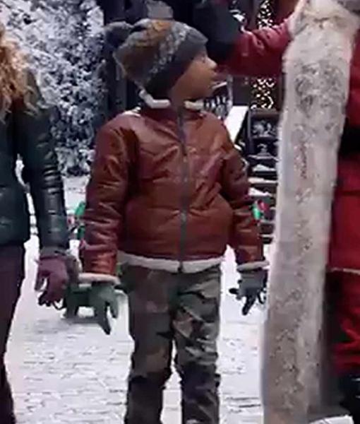 The Christmas Chronicles 2 Jahzir Bruno Jacket