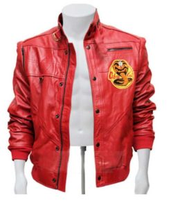 Johnny Lawrence Cobra Kai Leather Jacket