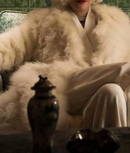 Lenore Osgood Ratched Fur Coat