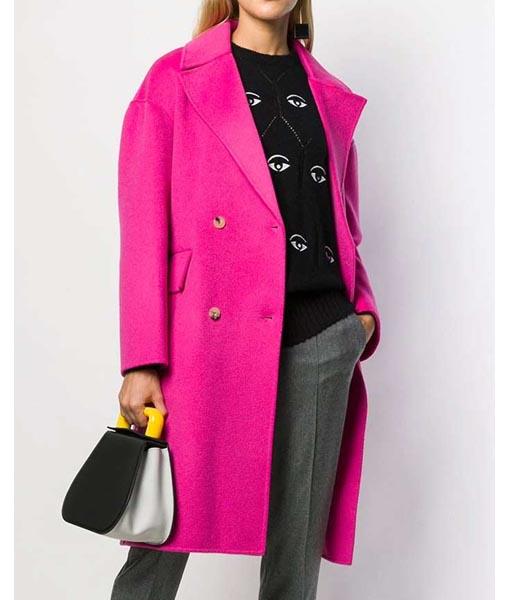 Emily Cooper Emily in Paris Pink Coat