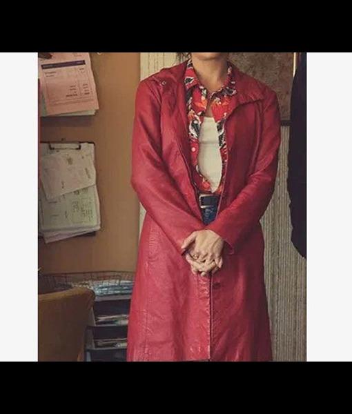 Olivia Cooke Pixie Coat