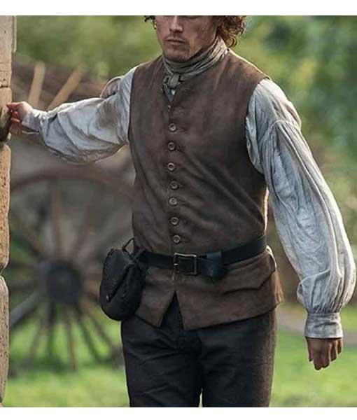 Jamie Fraser Outlander S03 Vest