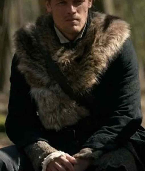 Jamie Fraser Outlander S04 Fur Coat