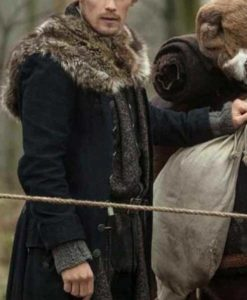 Jamie Fraser Outlander S04 Fur Coat