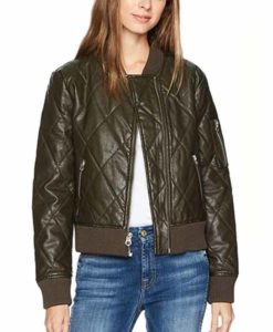 Raven Reyes The 100 Quilted Jacket