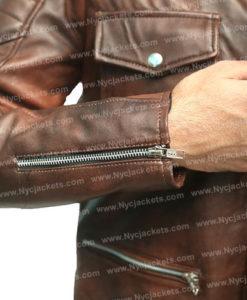 Roy Pulver Boss Level Jacket | Frank Grillo Jacket
