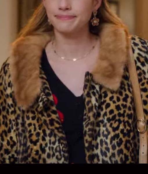 Sloane Holidate Leopard Coat