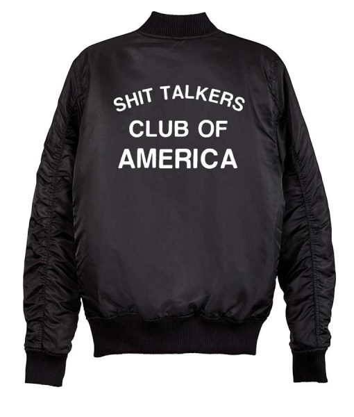 Shit Talkers Club Of America Jacket