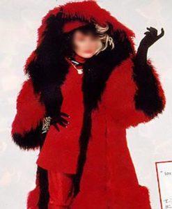 101 Dalmatians Cruella Deville Coat 3