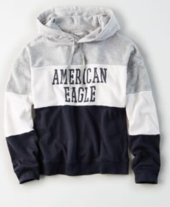 Super Soft Fleece American Eagle Pullover Hoodie