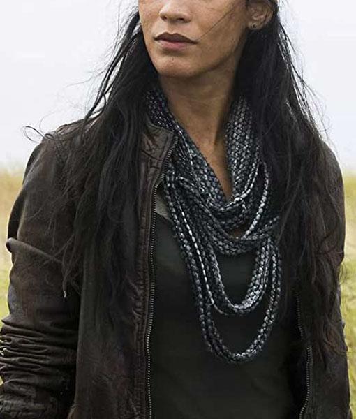Luciana Galvez Fear The Walking Dead S04 Jacket