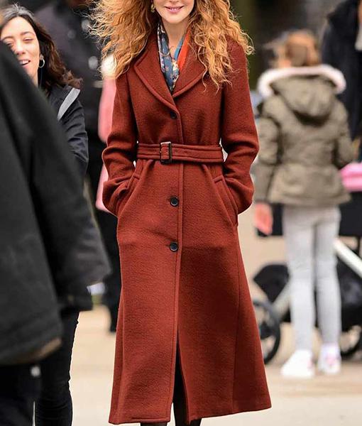 Grace Fraser The Undoing Brown Coat