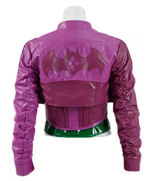 Injustice 2 Harley Quinn Purple Jacket