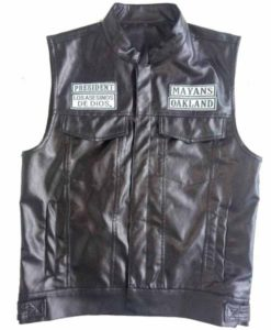 Ezekiel Reyes Mayans MC Leather Vest