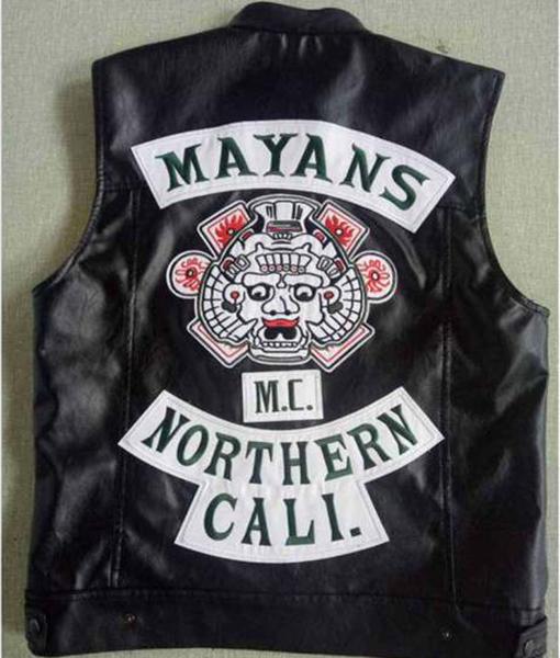 Ezekiel Reyes Mayans MC Leather Vest