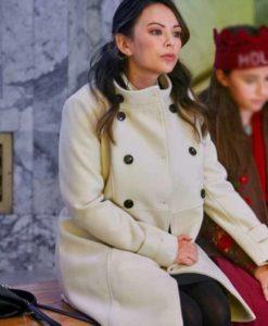 Janel Parrish Holly & Ivy Coat