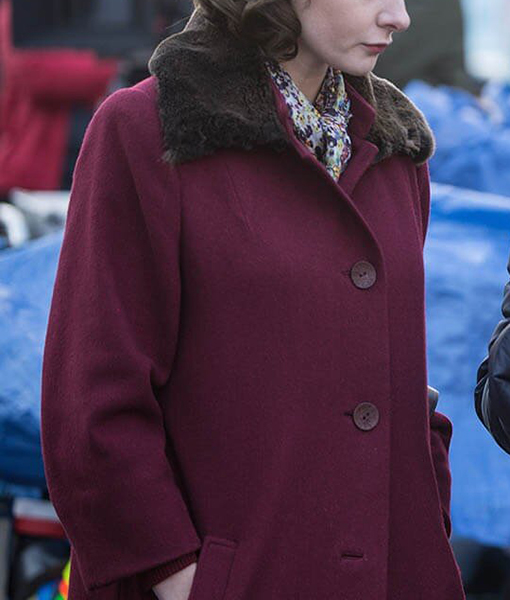 Katya Despite The Falling Snow Coat