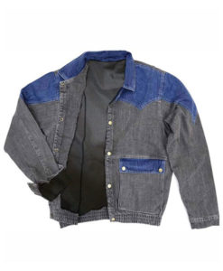 Marty Mcfly Back to The Future Denim Jacket
