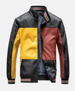 Men's Color Block Jacket